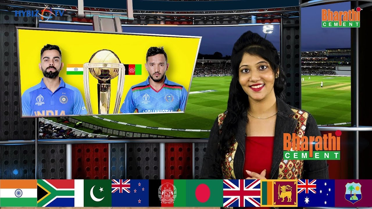 India vs Afghanistan ICC Cricket World Cup 2019 Match