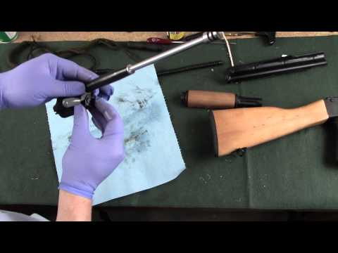Cleaning WASR 10 AK-47