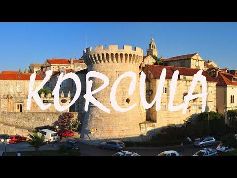 A Tour of Korcula Island, Croatia in the Adriatic Sea