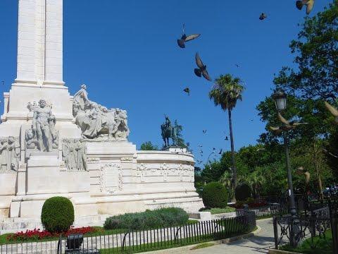 Cadiz, Spain - Plaza de España (Monument to the Constitution of 1812)