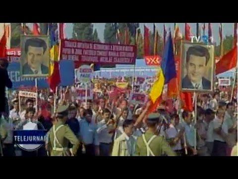 """TVR 60: Cum s-a auzit """"Jos Ceauşescu!"""" la repetiţiile paradei din 1985"""