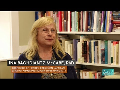 Ina Baghdiantz McCabe: Armenian Merchants and the Origins of European Café Culture