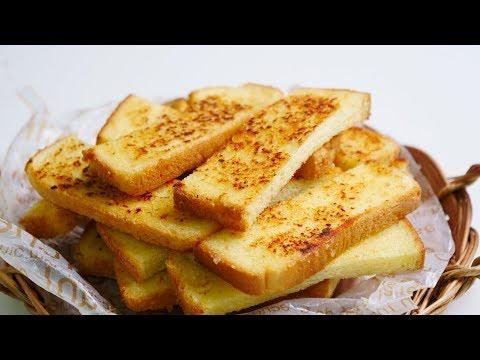 초간단 마늘빵 만들기 (노오븐) | 한세