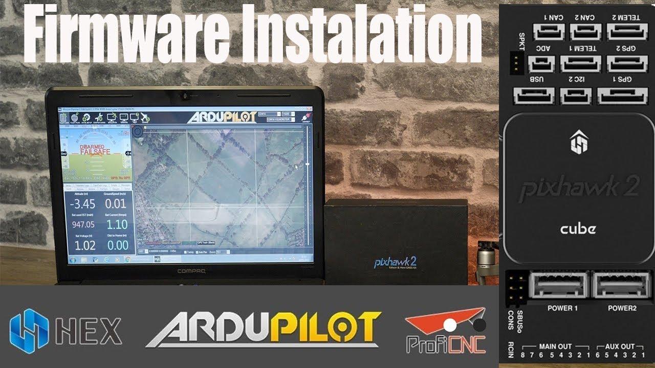 The Cube/Pixhawk 2 Ardupilot Firmware Installation + Best IMU EKF Settings