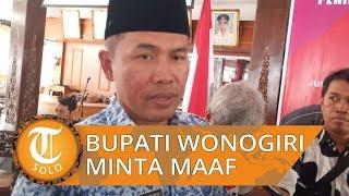Video Asusila Camat Karangtengah Tersebar, Bupati Wonogiri Minta Maaf
