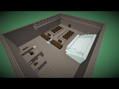 Minecraft Builds Ep.1: Courtroom!