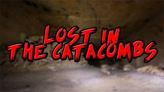 Girl Lost in Odessa Catacombs