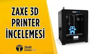 3 Boyutlu Yazıcılarla Neler Yapabiliyoruz? - Zaxe 3D Printer İncelemesi