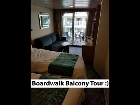 boardwalk balcony cabin tour stateroom 10709 oasis of