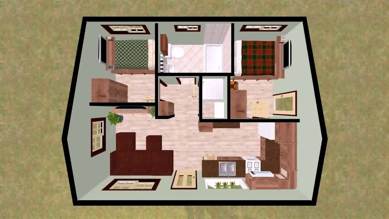 Small Raised Bungalow House Plans (see description) - YouTube on