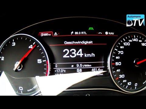 Autobahn Test - 2012 Audi A7 3.0 TDI S-Line (1080p FULL HD)