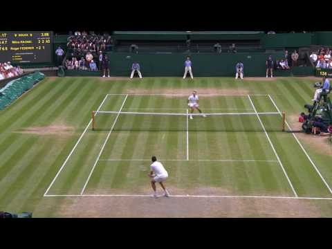 HSBC Play of The Day - Milos Raonic