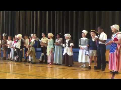 13 Colonies Song 1st Grade: 2016