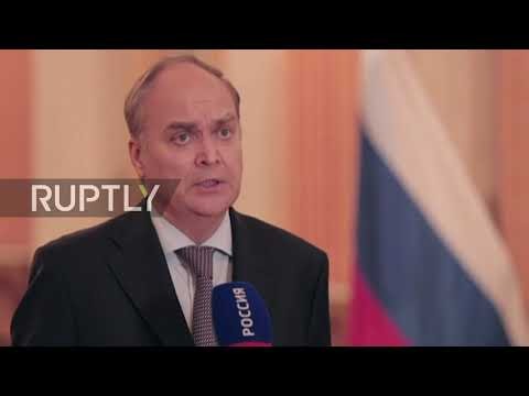 Russia: 'US to blame for violating norms of relations' – Antonov on flag removals