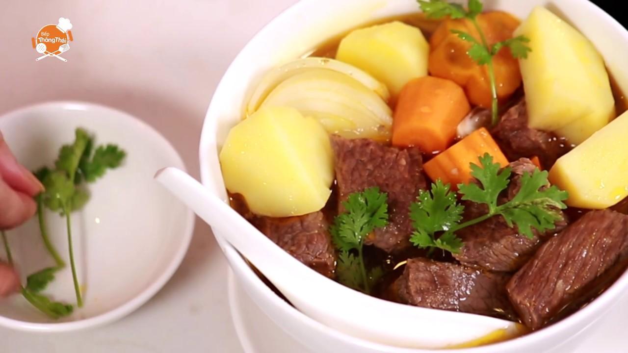 Hướng dẫn nấu lagu bò mềm thơm, bổ dưỡng nhanh trong tích tắc | Bếp Thông Thái