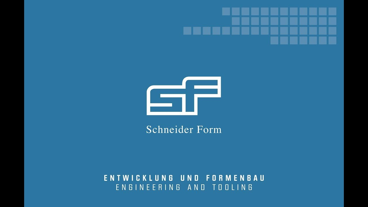 Schneider Form GmbH – Component design and mould making