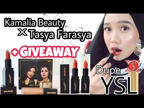 Review Lipstick Tasya Farasya X Kamalia Beauty - Double Treasure Canary Package
