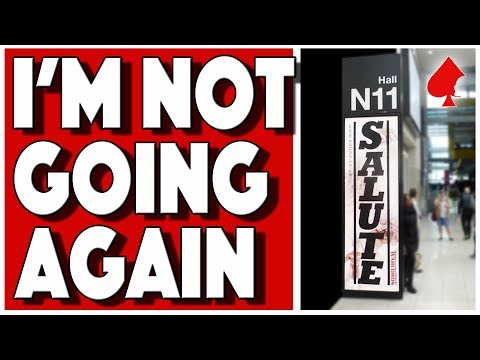 Salute Wargames Show 2019 - Why I'm Not Going Again