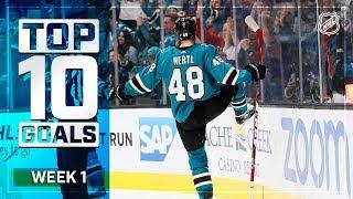 Top 10 Goals from Week 1