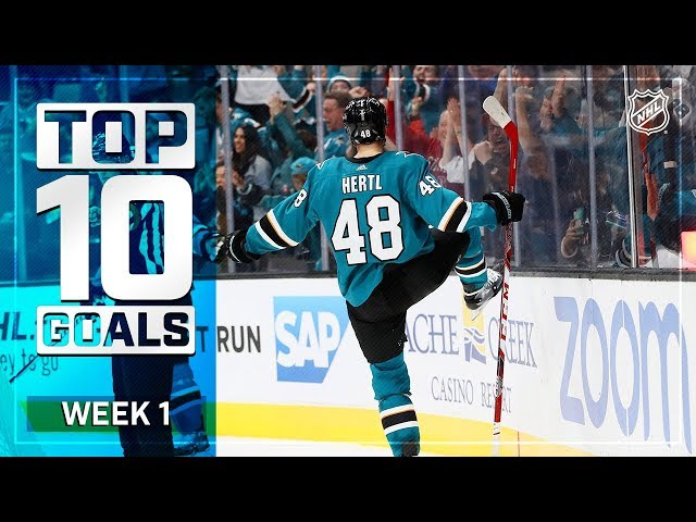Top 10 Goals from Week 1