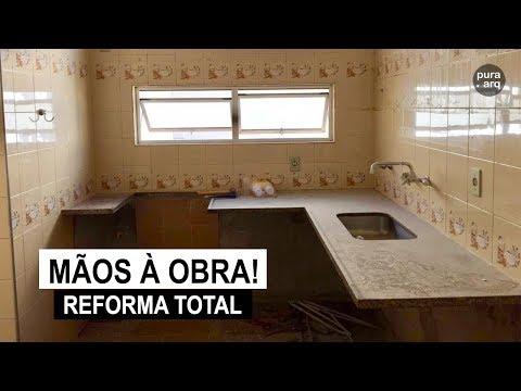 Mãos à Obra - Reforma total da cozinha e banheiros!