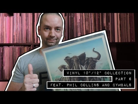 """Vinyl 10""""/12"""" record collection #6 ('C') more PHIL COLLINS"""