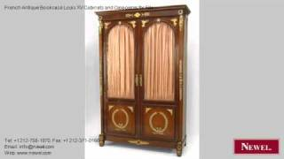 French Antique Bookcase Louis Xv Cabinets And Case-pieces