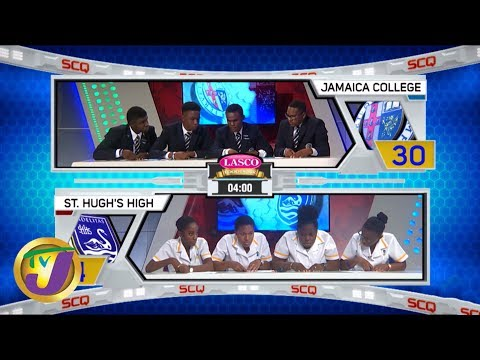 Jamaica College vs St. Hugh's High: TVJ SCQ 2020 - January 27 2020