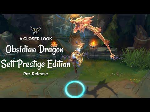 Obsidian Dragon Sett Prestige Edition (Pre-Release)