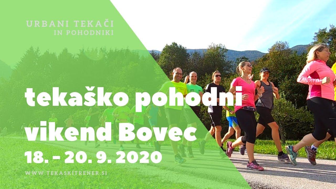 Takaško pohodni vikend, Bovec 18-20/9/20