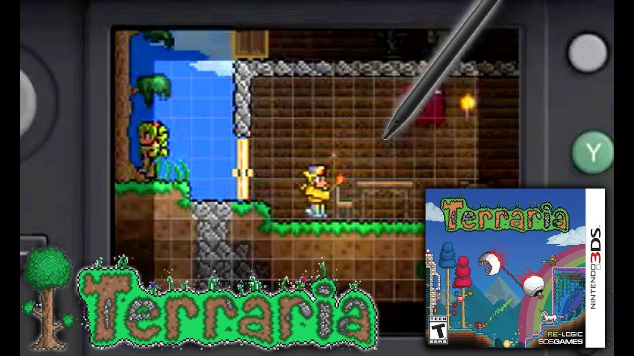 Hands On: Here's What The 3DS Version Of Terraria Looks