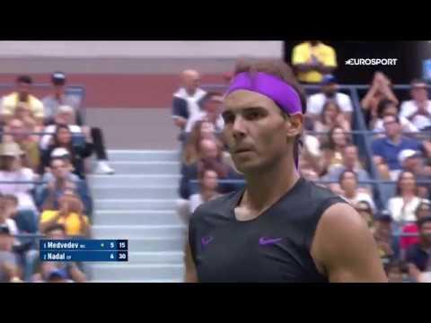 Даниил Медведев — Рафаэль Надаль. US Open-2019. Обзор матча