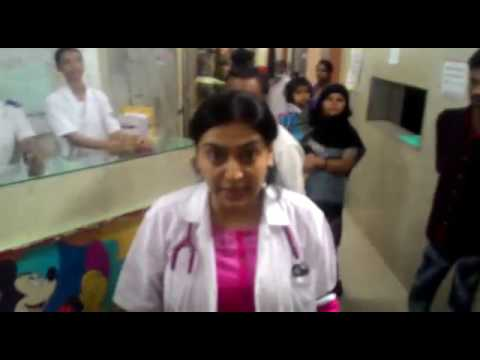 Female Doctor (Paediatrics Specialty Medical Officer) Hit by patient's relatives at Sion Hospital