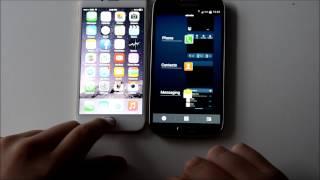 iphone 6 vs samsung galaxy s4 speed test