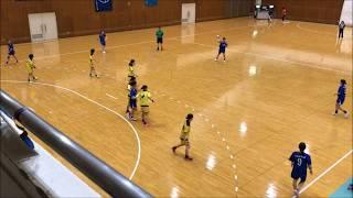 関西学生ハンドボールリーグ戦 男女第1節ハイライト(関西福祉科学大学)