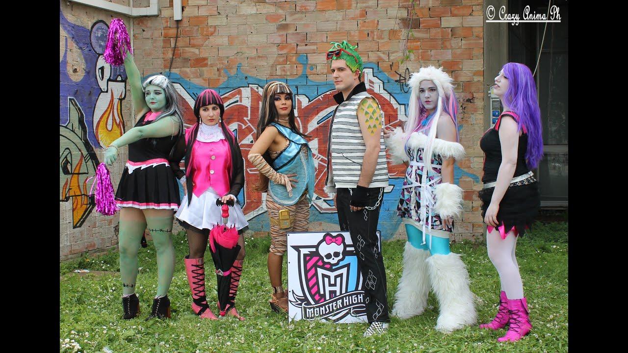 Monster high scenetta cosplay youtube - Monster high youtube ...