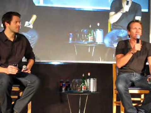 Misha Collins & Sebastian Roché panel, part1