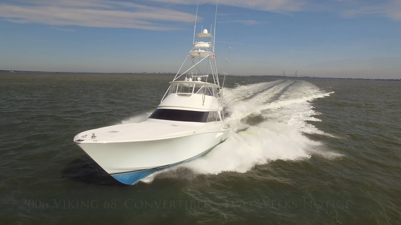 2006 Viking 68' Convertible - Two Weeks Notice   For Sale with HMY Yachts