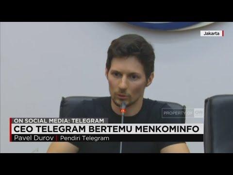 Mark Zuckerberg Rusia, CEO Telegram Pavel Durov Sowan ke Kominfo