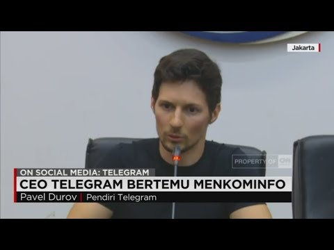 Mark Zuckerberg Rusia, CEO Telegram Pavel Durov Sowan ke Kominfo