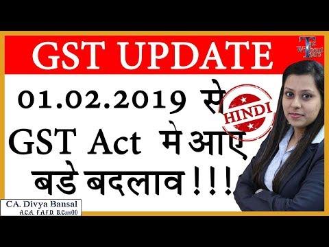 Important Amendment in GST| ITC on motor cars| Composition Scheme| Easy GST Returns| CA Divya Bansal