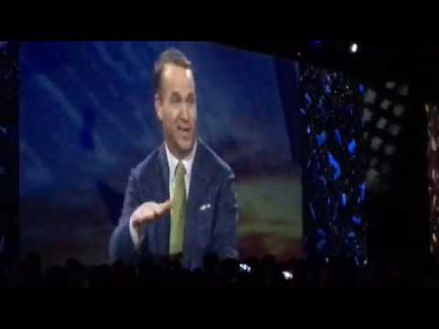 Peyton Manning at Adobe Summit on Retirement and Ray Lewis, March 22, 2017
