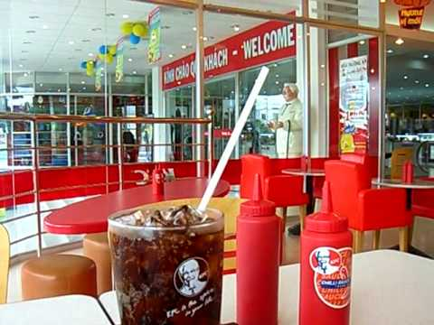 KFC in Can Tho - Vietnam