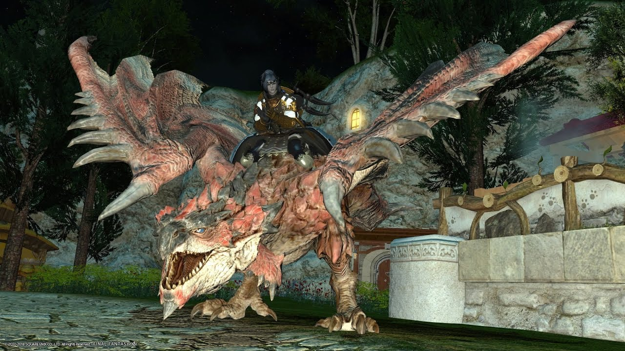 FFXIV - Rathalos Ex fight + Rathalos mount