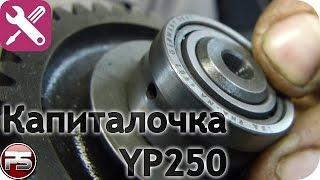 Yamaha Majesty 250. Ч.2: ремонт
