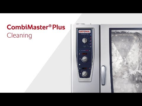 Cleaning in the CombiMaster Plus  RATIONAL
