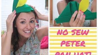 NO-SEW PETER PAN HAT