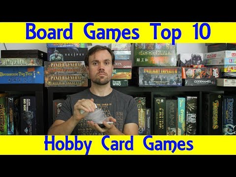 Top 10 Hobby Card Games