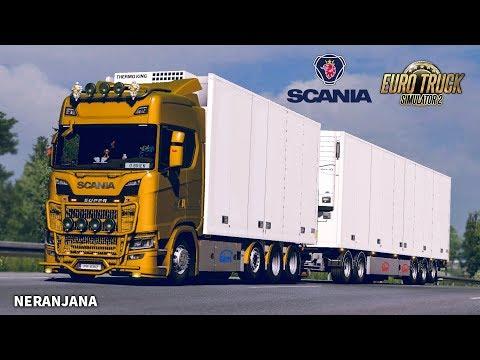 ETS 2 Mod   Tandem addon for Next Gen Scania by Siperia [ETS2 v1.35]