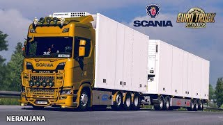 ETS 2 Mod | Tandem addon for Next Gen Scania by Siperia [ETS2 v1.35]